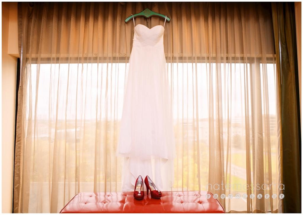 University of Houston Wedding at the Hilton