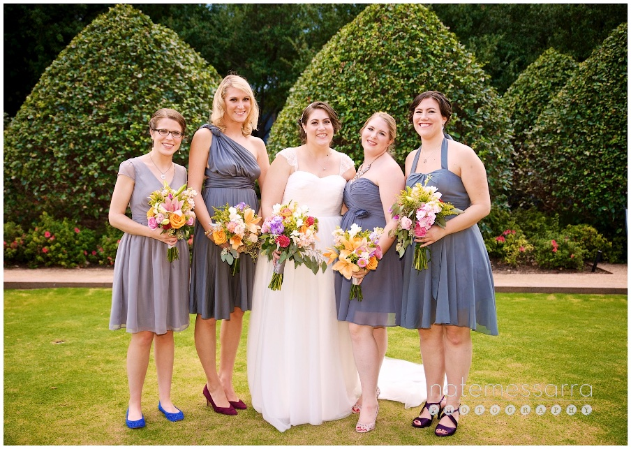 The Grove Houston Wedding Bridesmaids