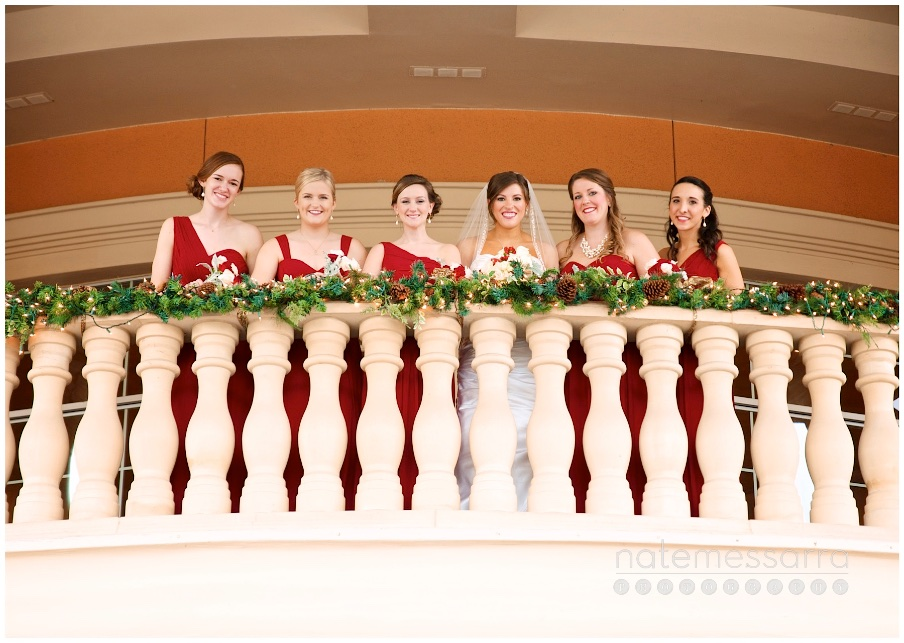 Chateau Polonez Wedding Bride and Bridesmaids