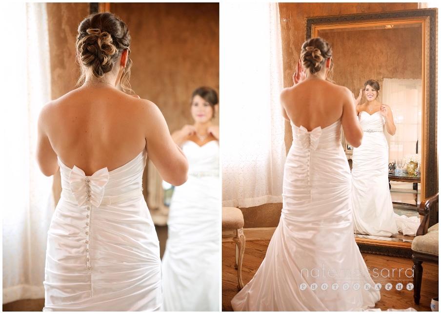 Chateau Polonez Wedding Bride Getting Ready