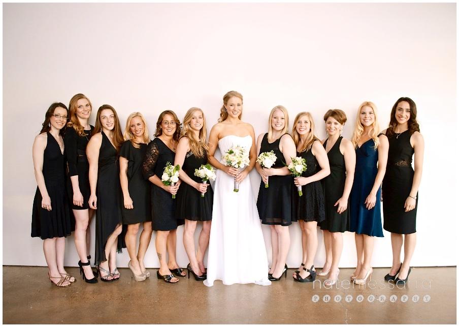 Ecclesia Houston Wedding Bridal Party