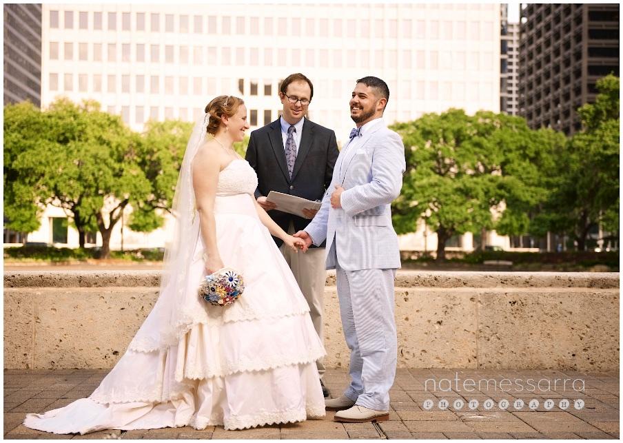 Houston City Hall Wedding Ceremony