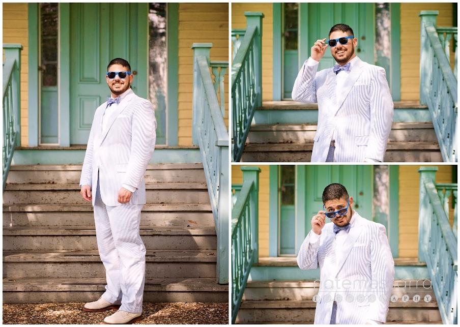 Groom Wedding Suit ideas-Seersucker Suit